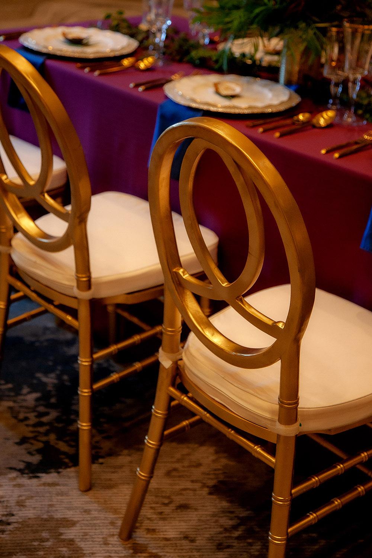 Gold Phoenix Chairs