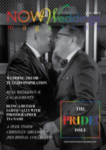 NOW Weddings Magazine June 2021 Pride Issue Cover