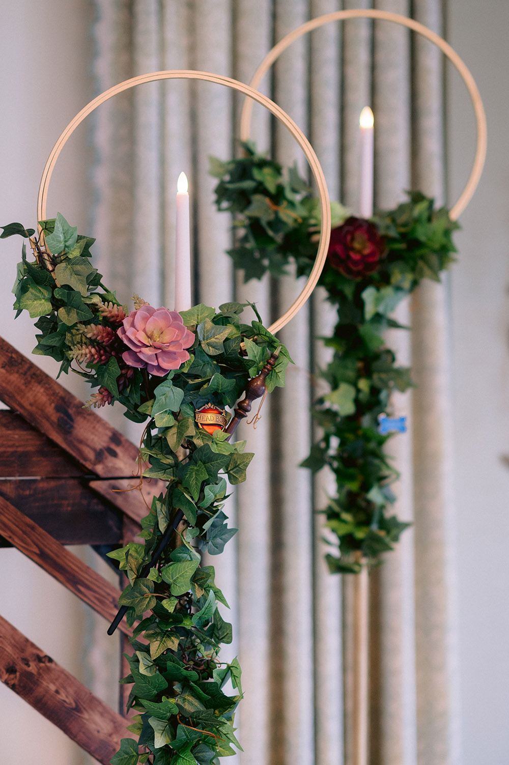 Quidditch Goal Wedding Decor, Harry Potter Wedding