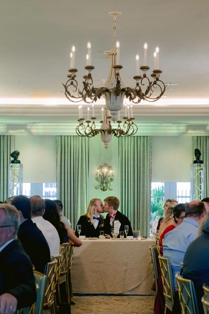 wedding reception banquet dinner