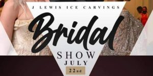 J Lewis Ice Carvings Bridal Show July 22