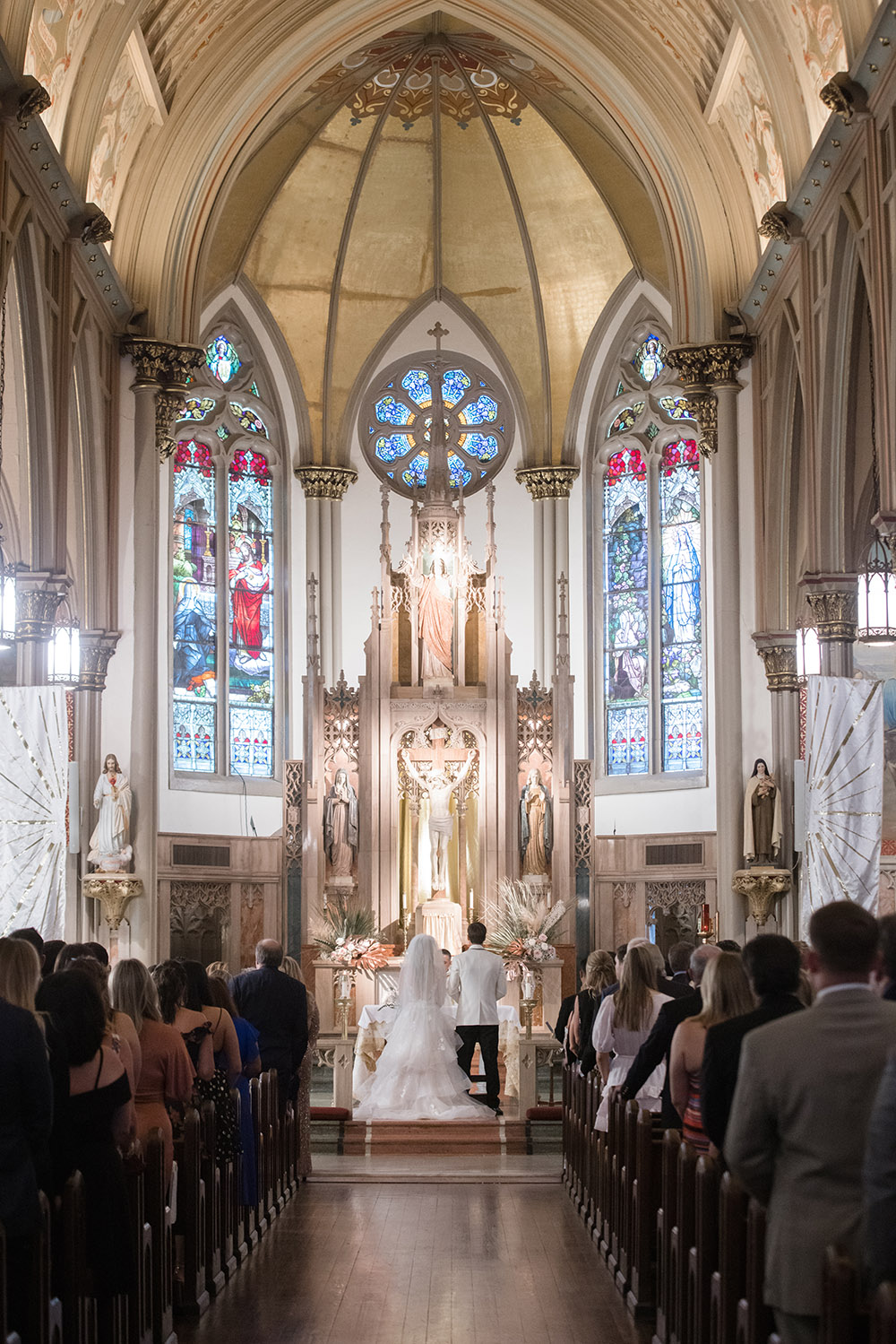our lady of good counsel wedding ceremony