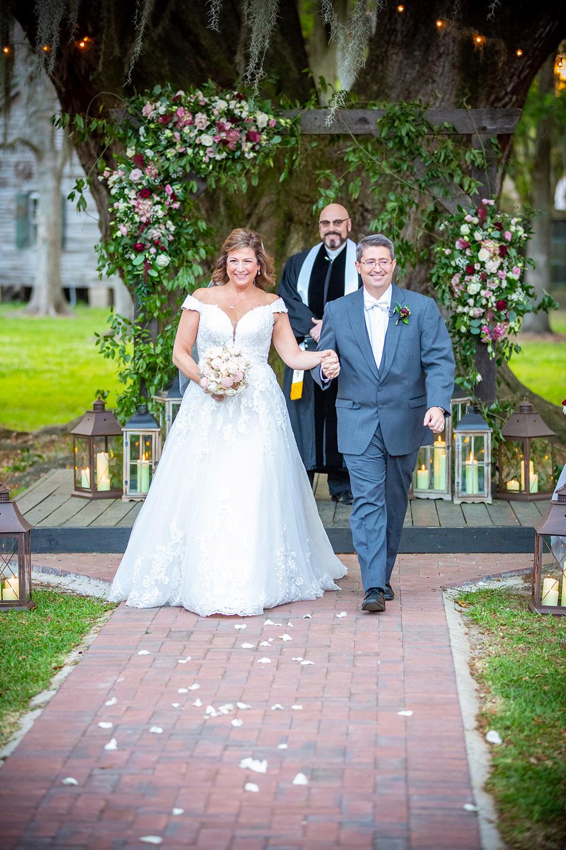 Destrehan, Louisiana wedding