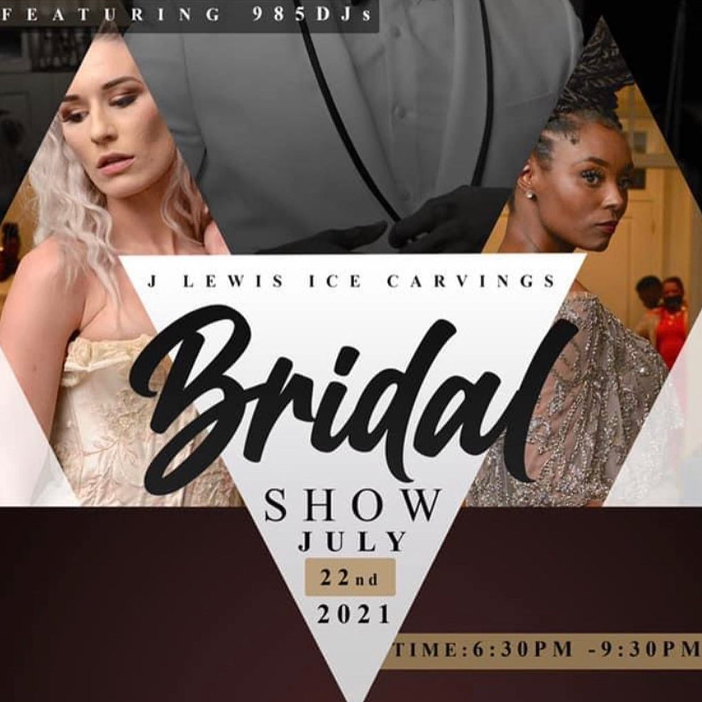 J Lewis Ice Carvings July 2021 Bridal Show New Orleans