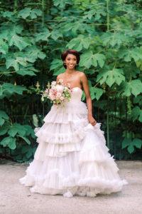 Viktor&Rolf bridal gown at Hemingbough, St. Francisville, LA