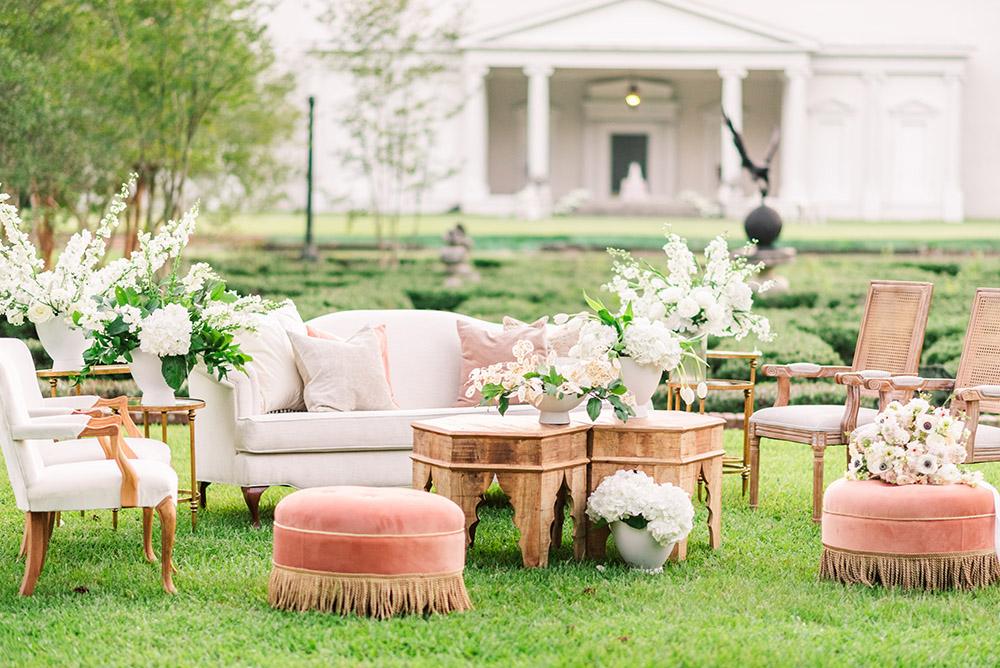 wedding lounge seating
