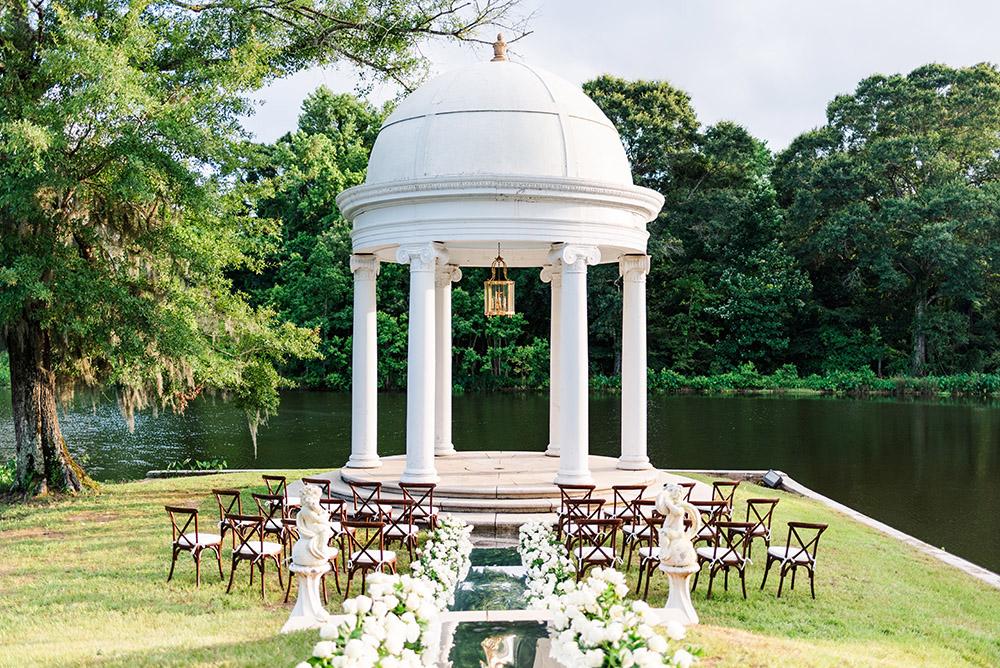 Hemingbough gazebo wedding