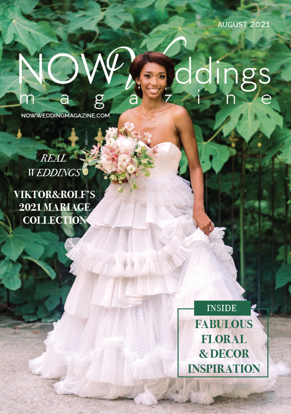 NOW Weddings Magazine August 2021 Cover