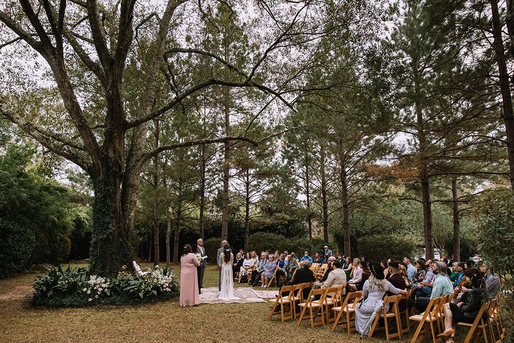 fall wedding covington la