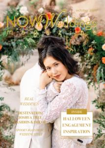 NOW Weddings Magazine October 2021 Cover