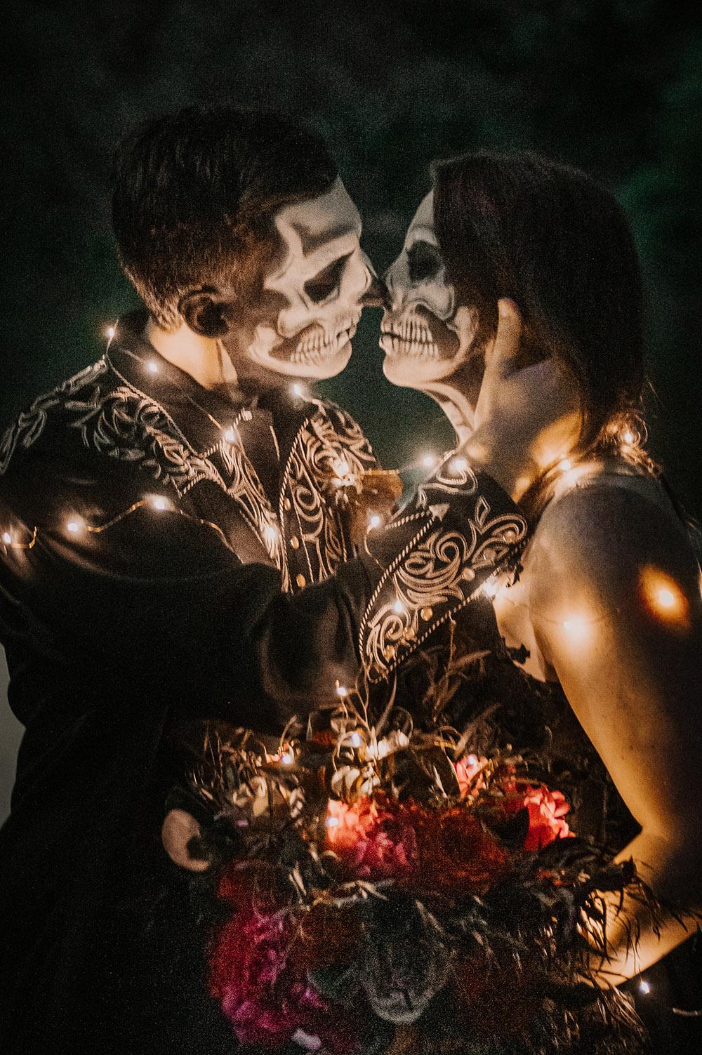 Halloween engagement