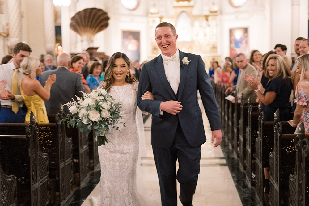 Immaculate Conception Church wedding New Orleans